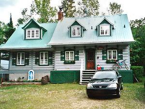 Maison à vendre, Lac Duhamel