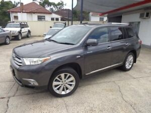 2010 Toyota Kluger GSU40R MY11 Upgrade Grande (FWD) Graphite 5 Speed Automatic Wagon Sylvania Sutherland Area Preview