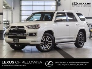 2016 Toyota 4Runner Limited w/JBL Audio and Navigation
