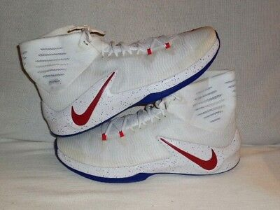 fd1e6b5066a Nike Zoom Clear Out Athletic Shoe White UNIV RED OLD ROYAL Men SZ 17  (BIG TALL)