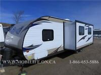 **SLEEPS 9! **LEATHER! **FAMILY TRAVEL TRAILER FOR SALE!