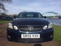 2005 55 LEXUS GS 3.0 300 SE 4D 245 BHP