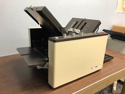 Fp 2001 Fully Automatic Heavy-duty Tabletop Paper Folder - Compare Duplo D-590