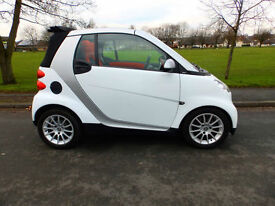 2008 58'reg Smart fortwo 1.0 ( 71bhp ) Passion**Convertible**40,000 miles**