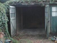 Lock up garage to let/ for rent ; Enfield