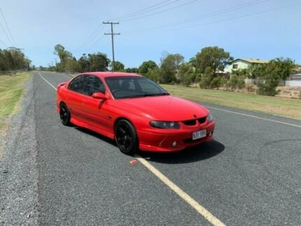 2001 Holden Commodore VX II SS Red 4 Speed Automatic Sedan Clontarf Redcliffe Area Preview