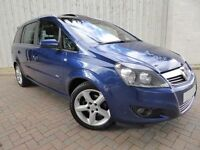 Vauxhall Zafira 1.8i SRI MPV ....Low Mileage 7 Seater....with a Full Service History, Long MOT, FSH