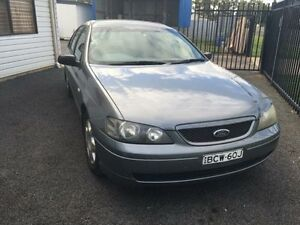 2003 Ford Falcon BA XT Mercury Silver 4 Speed Auto Seq Sportshift Sedan Coonamble Coonamble Area Preview