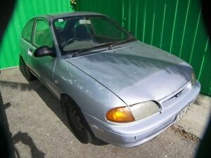 1995 Ford Festiva WB Trio 5 Speed Manual Hatchback Nailsworth Prospect Area Preview