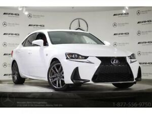 2017 Lexus IS 300 AWD F Sport Series 2 NAVI FULL LOAD w/Red Int