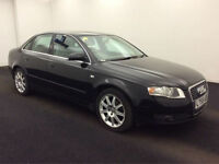 2006 55 Reg Audi A4 1.6 2006MY SE,BLACK,MANUAL,SALOON,46,000 MILES