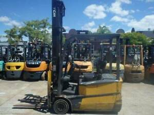 F3628: TCM FTB18-7 – CHEAP ELECTRIC FORKLIFT Geebung Brisbane North East Preview
