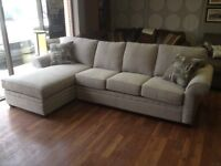 """Sofa/Chaise Sectional in our """"25 year"""" Fabric - only $1388!"""