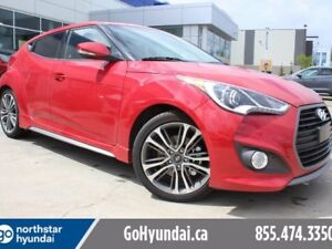 2017 Hyundai VELOSTER TURBO,NAVIGATION,BACK UP CAMERA, LEATHER,P