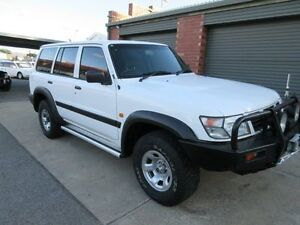 1998 Nissan Patrol GU DX (4x4) White 5 Speed Manual 4x4 Wagon Holden Hill Tea Tree Gully Area Preview
