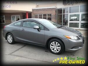 2012 Honda Civic Cpe AUTO AIR!