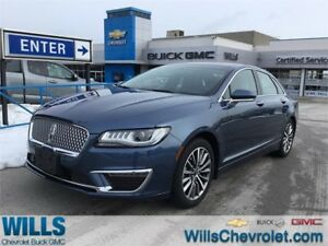 2018 Lincoln MKZ SELECT | AWD | 2.0 TURBO | LOW KM!