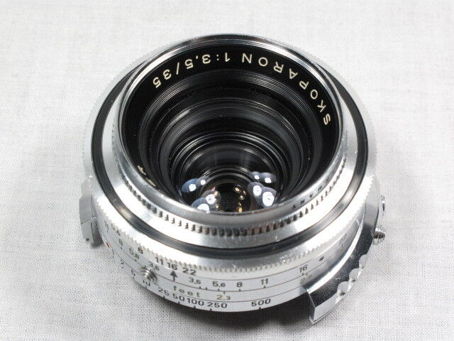VOIGTLANDER SKOPARON 1:3.5/35 35mm VINTAGE LENS