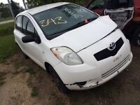 2008 TOYOTA YARIS PARTS PARTING OUT Winnipeg Manitoba Preview