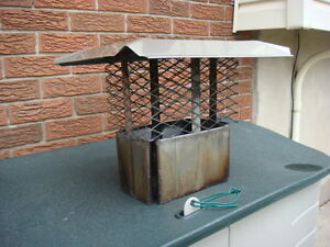 STAINLESS STEEL CHIMNEY CAP Cambridge Kitchener Area image 3