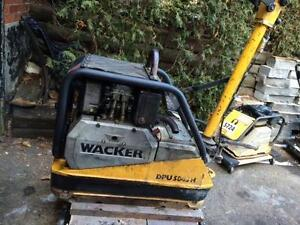 HOC - DIESEL WACKER REVERSIBLE PLATE COMPACTOR MODEL DPU 5045H + FREE SHIPPING + FREE 90 DAY WARRANTY !!