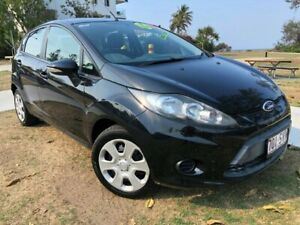 2012 Ford Fiesta WT CL PwrShift Black 6 Speed Sports Automatic Dual Clutch Hatchback Tugun Gold Coast South Preview