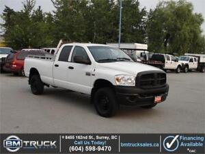 2009 DODGE RAM 2500 CREW CAB LONG BOX 4X4 HEMI