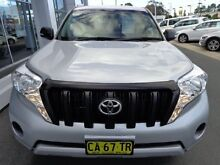 2014 Toyota Landcruiser Prado KDJ150R MY14 GX (4x4) Silver Pearl 5 Speed Sequential Auto Wagon Port Macquarie Port Macquarie City Preview