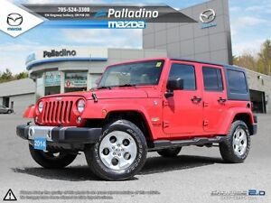 2014 Jeep Wrangler Unlimited Sahara- BUILT FOR ANY TERRAIN- GET