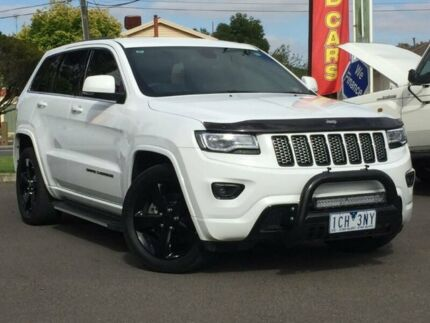 2014 Jeep Grand Cherokee White Sports Automatic Wagon