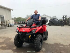 New 2018 CAN-AM Outlander 450 with 5 year Warranty& No Tax