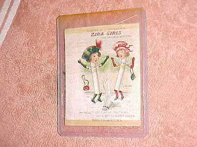 1910 ZIRA GIRLS Cigarette Silk -  THE TROUBLE BUSTERS