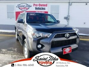 2017 Toyota 4Runner Backup Cam, XM, B/T, Heated seats