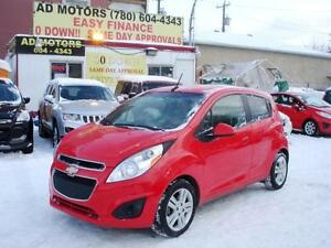 ON SALE!! 2013 CHEVROLET SPARK LT AUTO LOADED 61K-100% FINANCING