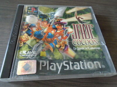 pour ps1 ps1  Jade Cocoon : Legend Of Tamamayu   complet for sale  Shipping to Canada