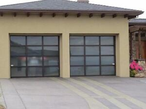 Contemporary Aluminum garage doors *BEST PRICE - FREE QUOTE* call today