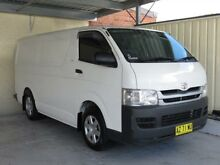 2008 Toyota Hiace TRH201R MY07 Upgrade LWB White 5 Speed Manual Van Condell Park Bankstown Area Preview