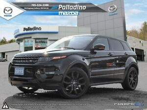2015 Land Rover Range Rover Evoque Dynamic-SPORTY-FLASHY -LOADED
