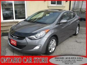 2012 Hyundai Elantra GLS SUNROOF !!!NO ACCIDENTS!!!