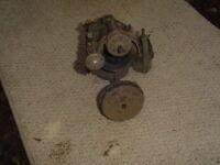1955 Johnson 25 HP Outboard Motor Carb