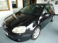 Volkswagen Golf tdi 3 Door black