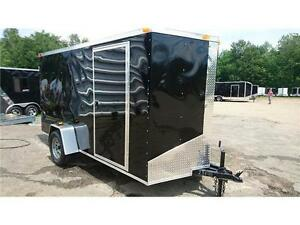 $3,696 · NEW 6X12 + V NOSE SOUTH CARGO ENCLSOED TRAILERS