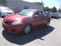 2010 TOYOTA COROLLA 97000KM, AIR CLIMATISE $6995