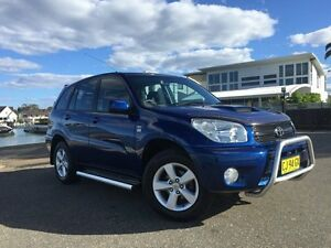 2005 Toyota RAV4 ACA23R CV Sport Blue 4 Speed Automatic Wagon Sylvania Sutherland Area Preview