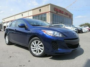 2012 Mazda MAZDA3 GX 5 SPD, BT, A/C, ALLOYS, 70K!