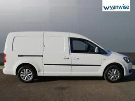 2013 Volkswagen Caddy 1.6 TDI 102PS Highline Van MAXI Diesel white Manual