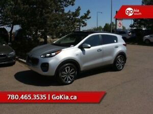 2018 Kia Sportage EX TECH; AWD, PANO ROOF, NAV, HEATED/COOLED SE