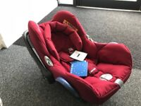 Maxi-Cosi Cabriofix Group 0+ Car Seat RED NEW