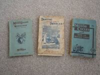 Motorcycle Books 1930s/1940s