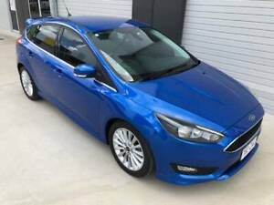 1 NON SMOKER LADY OWNER 2016 ECOBOOST SPORT EDITION FOCUS WITH LOW KMS Pinkenba Brisbane North East Preview